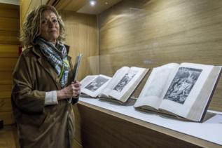 """Exposición de """"Quijotes""""."""
