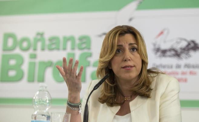 Susana Díaz, en un acto celebrado esta semana en Sevilla.