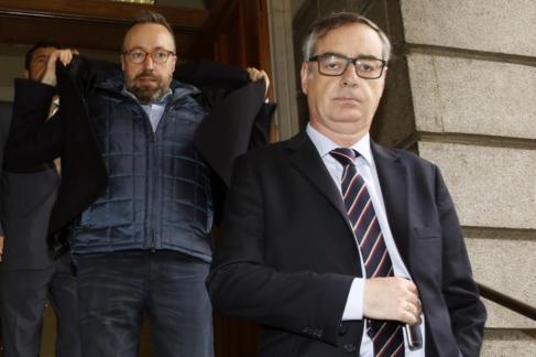 José M. Villegas, Juan C. Girauta y Miguel A. Gutiérrez  salen hoy...