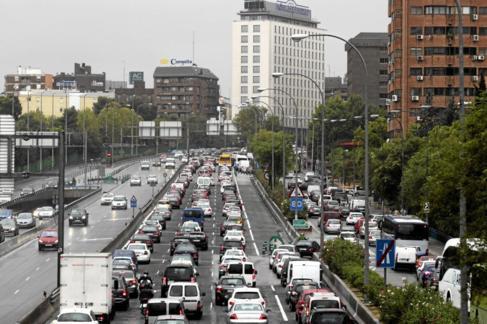 El tráfico es uno de los ruidos que más desagradan a los ciudadanos.