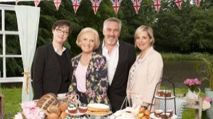 'The Great British Bake Off'.