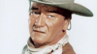 John Wayne, durante una de sus películas.