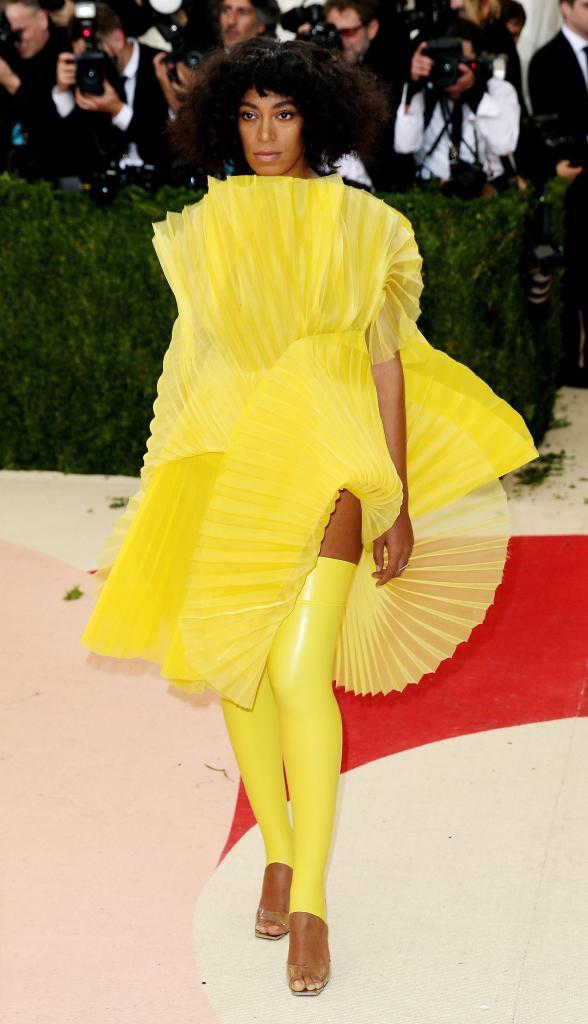 La cantante estadounidense Solange Knowles, hermana de Beyonce,...