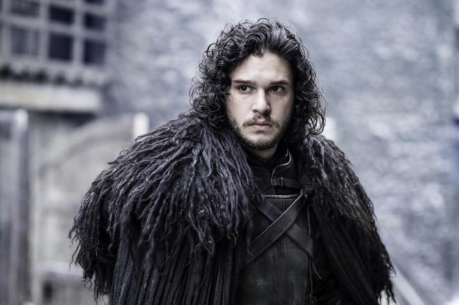 Jon Snow, en una imagen de la quinta temporada de 'Juego de tronos'.