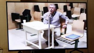 El ex 'número dos' del PP de Madrid Francisco Granados, durante su...