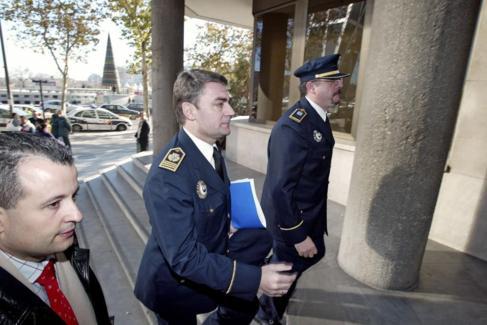 José Luis Morcillo entrando en los juzgados en 2005.