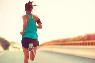 Chica corriendo. Foto: Shutterstock