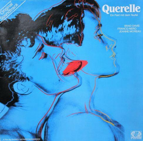 Portada de la banda sonora de 'Querelle'