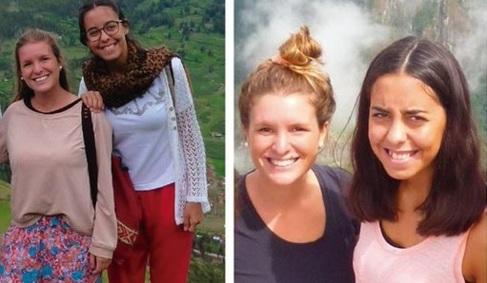 Marina Menegazzo y María José Coni, las dos jóvenes asesinadas en...