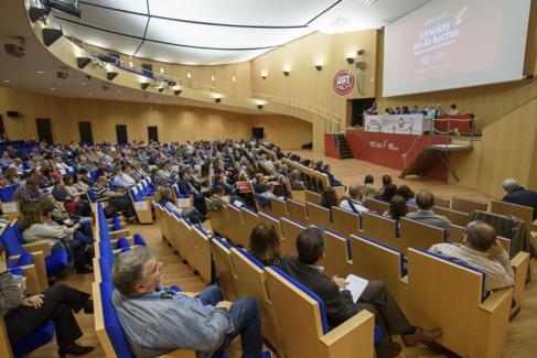 Congreso de UGT en Euskadi celebrado esta semana.