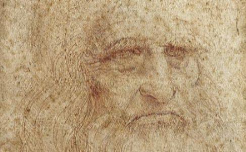 Autorretrato de Leonardo da Vinci, de 1513.