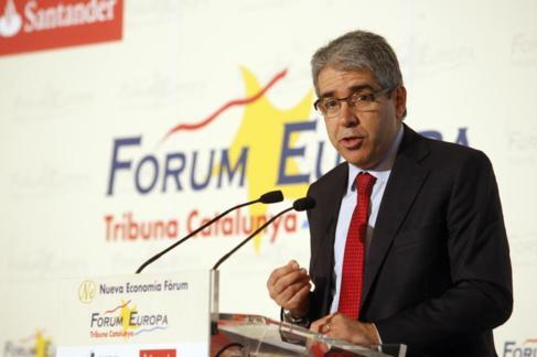 Francesc Homs, portavoz de Democràcia i Llibertat en el Congreso.