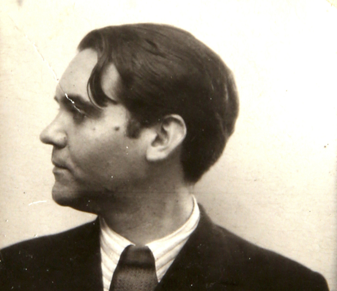 Imagen hasta hoy desconocida de Lorca, que éste dedicó a Rafael...