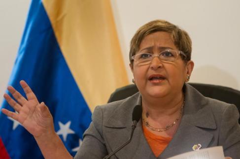 Tibisay Lucena, rectora principal del Consejo Nacional Electoral.