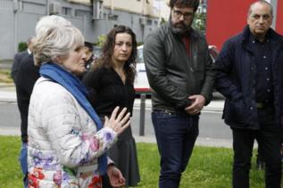 Mari Paz Artolazabal, ayer en el homenaje a López de Lacalle