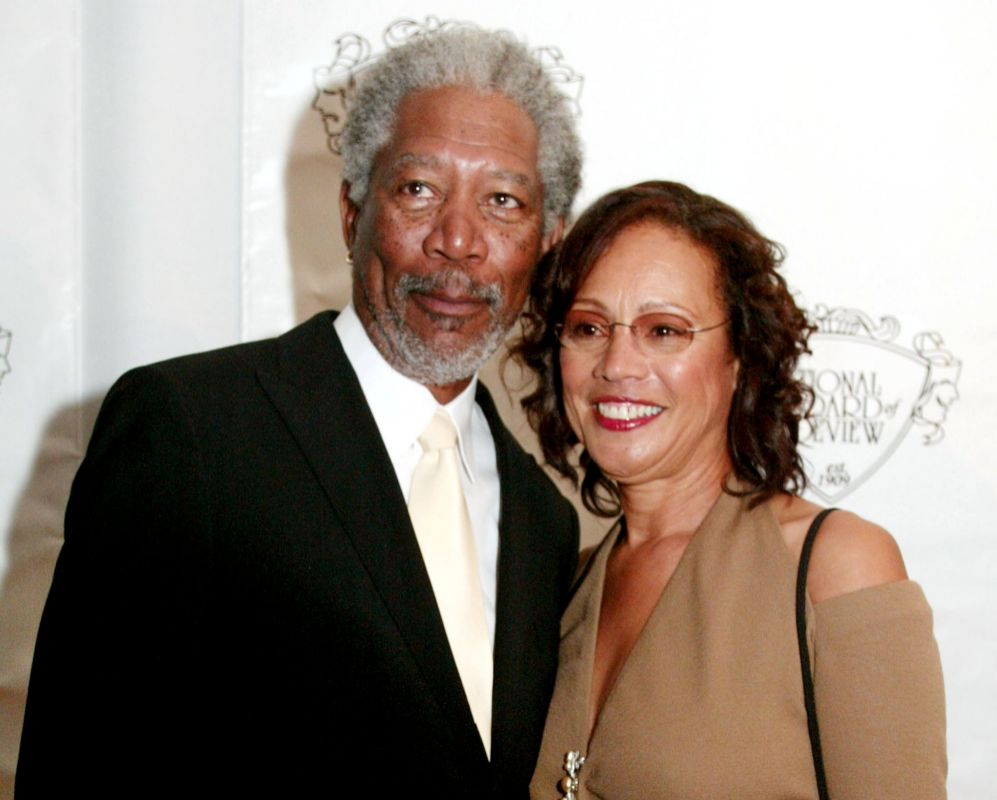 Morgan Freeman y Myrna Colley-Lee. A los 70, vida nueva. El actor...