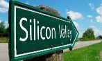Un cartel que indica la dirección a Silicon Valley