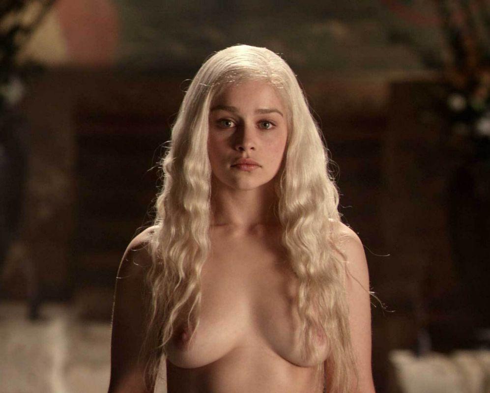 Emilia Clarke. Pese a que había dejado claro que quería desnudarse...