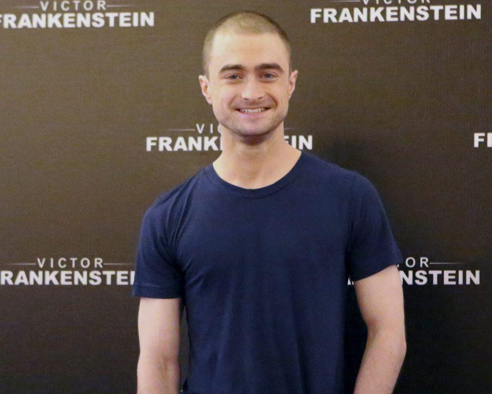 Daniel Radcliffe. Muchas estrellas infantiles recurren a los desnudos...