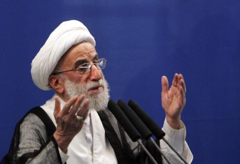 El ayatolá Ahmad Jannati, en una fotografía de 2009.