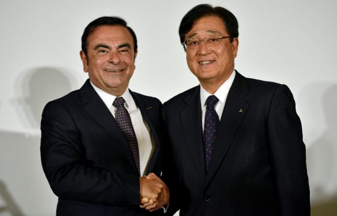 Carlos Ghson y Osamu Mazuko