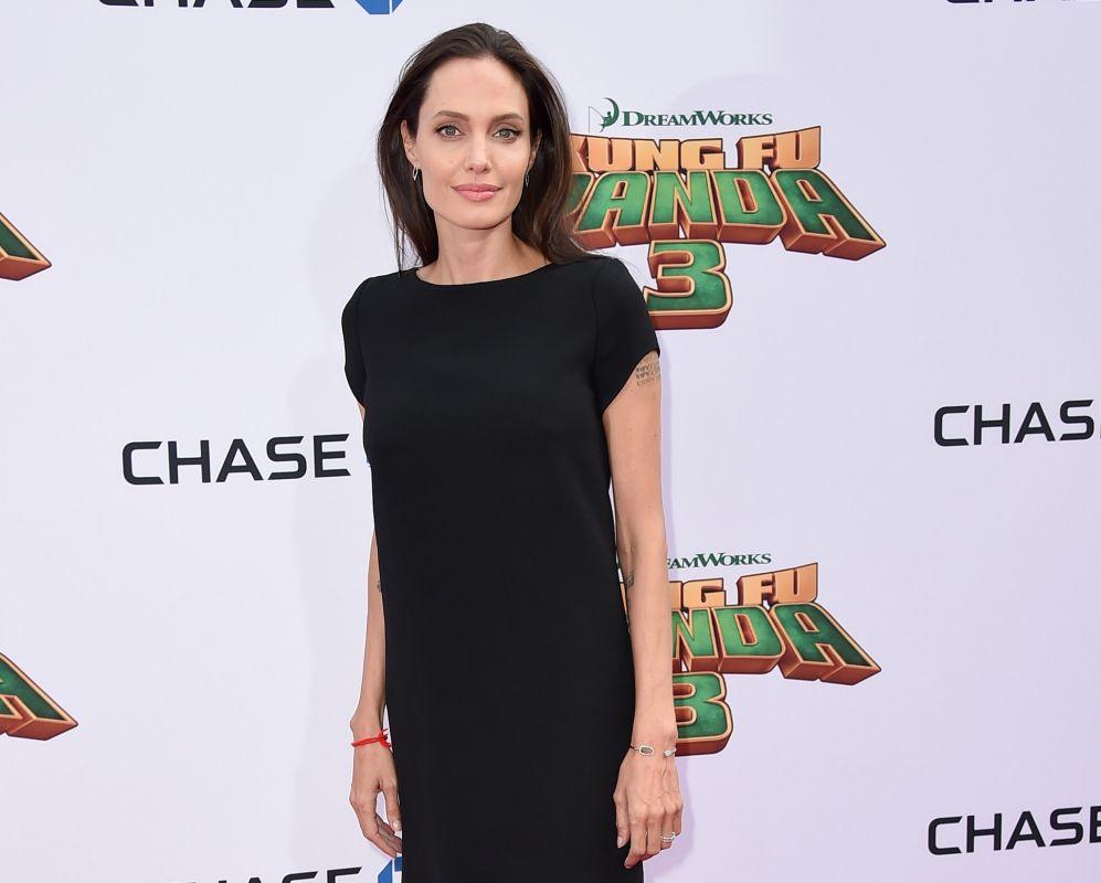 """Angelina Jolie. """"Para mí, América está construida con gente de todo..."""