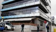 Registro de la Guardia Civil en la sede central de Acuamed, el pasado...