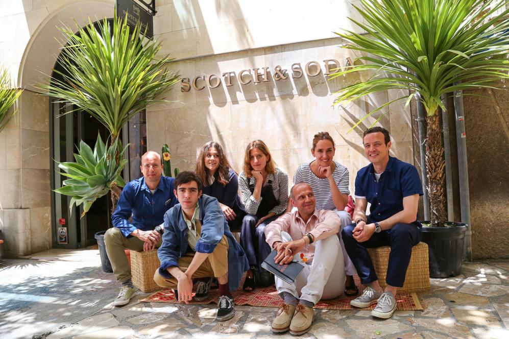 Philippe Salvà, Sofía López-Quesada, Tania Baides y el resto del...