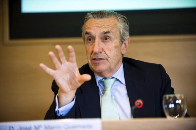 José María Marín Quemada, presidente de la Comisión Nacional del...