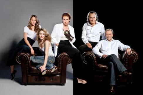 De izquierda a derecha: Irene Escolar, Silvia Abascal, Carlota Ferrer,...