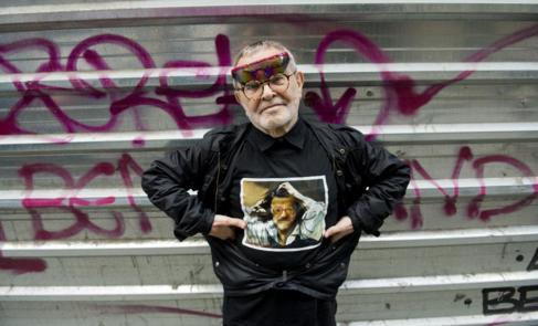 Fernando Arrabal, en la entrevista con El MUNDO.