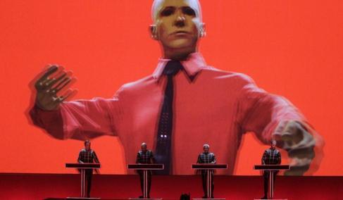 Concierto en el Sónar con proyecciones 3D.