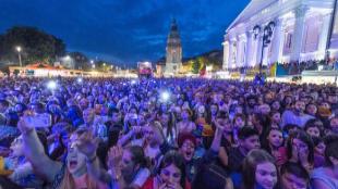 Festival de música de Darmstadt, el pasado 26 de mayo