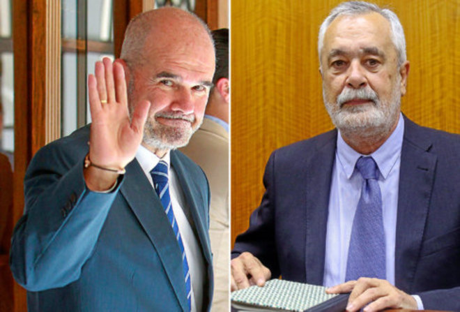 Manuel Chaves y José Antonio Griñán.