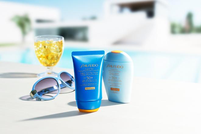 Protectores solares Shiseido WetForce