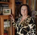 Rosario Bermudo, en su casa de Torrejón de Ardoz, de Madrid.