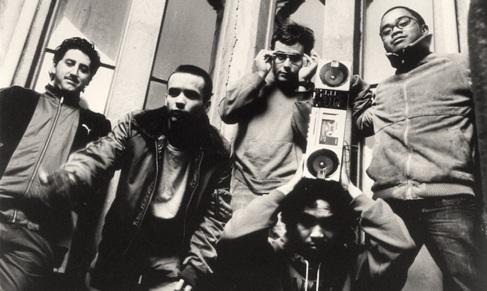 The Avalanches, en una vieja fotografía promocional.