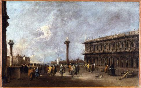 'La Piazzeta de San Marco', de Francesco Guardi, hacia 1760.