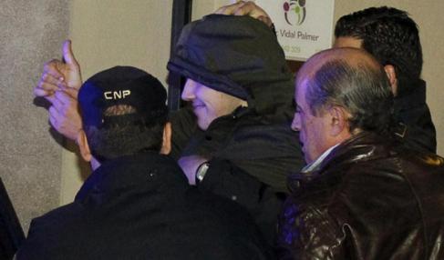 El menor, detenido después de la agresión a Rajoy.
