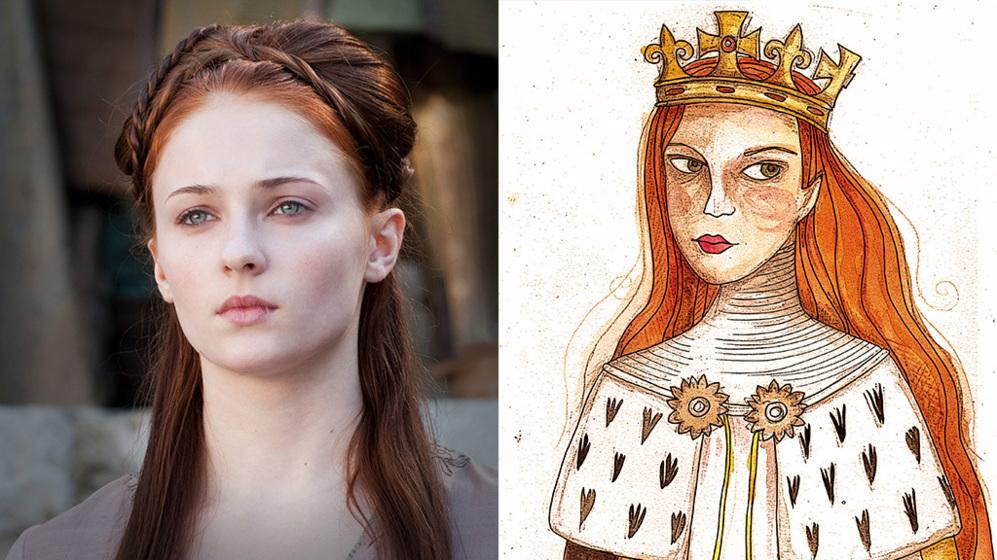 SANSA STARK ES ANA NEVILLE. Sansa Stark perdió a su familia mientras...