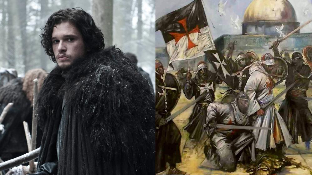 La Guardia De La Noche Son Los Templarios La F5 El Mundo