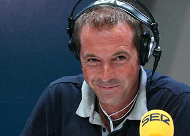 Manu Carreño, en su etapa como director de 'Carrusel deportivo', en...