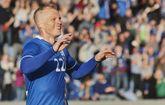 El delantero islandés Gunjhonsen.