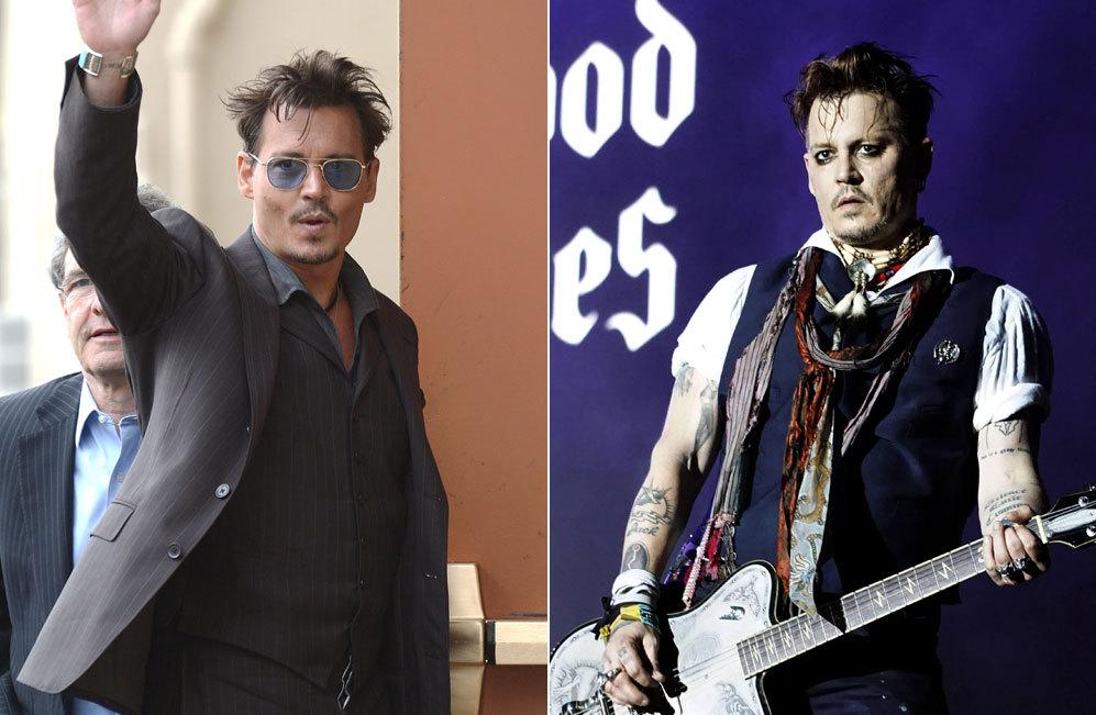 El cambio de Johnny Depp del 2014, cuandp se comprometió con Amber...
