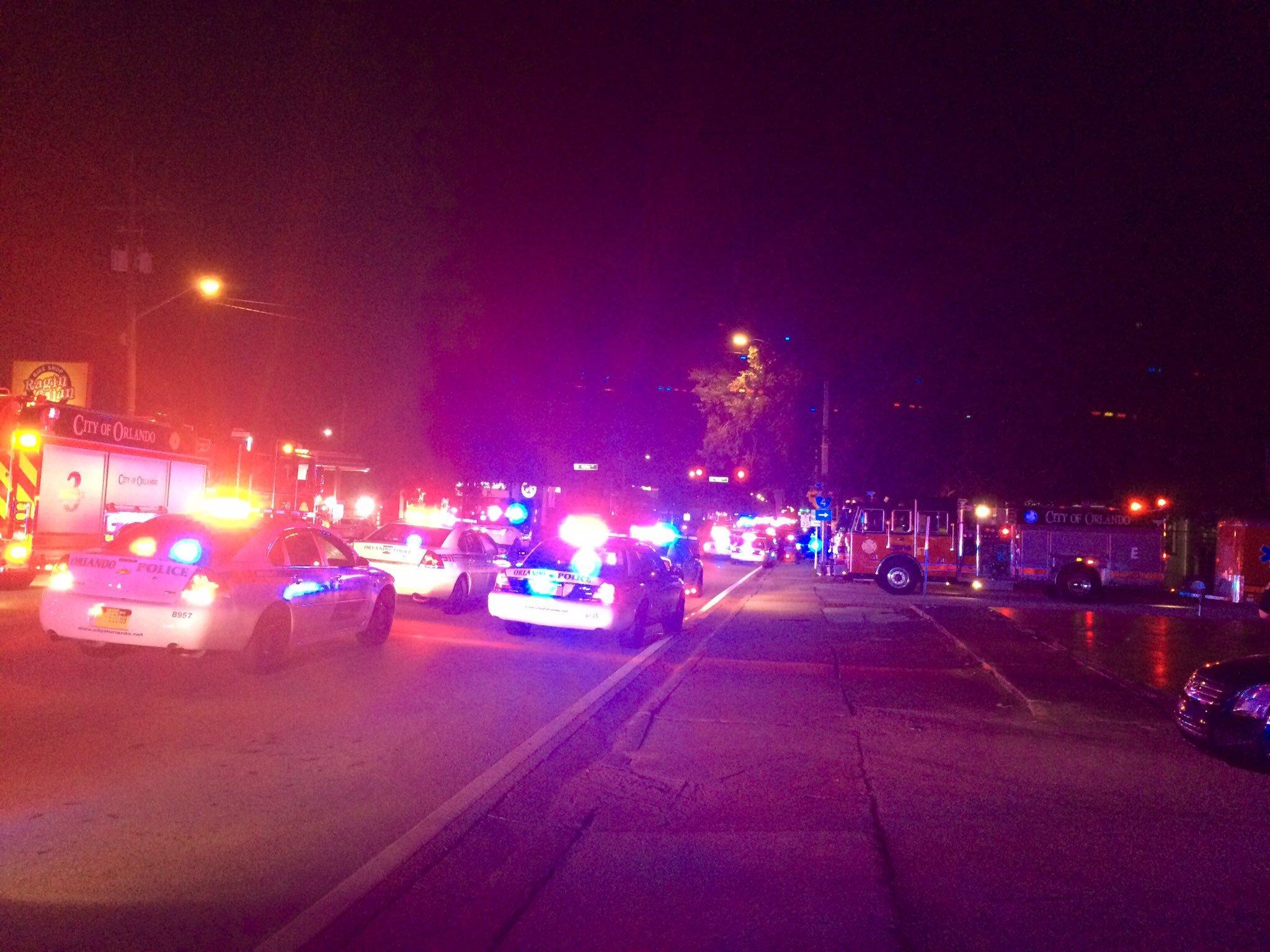 Caos tras el tiroteo de Orlando