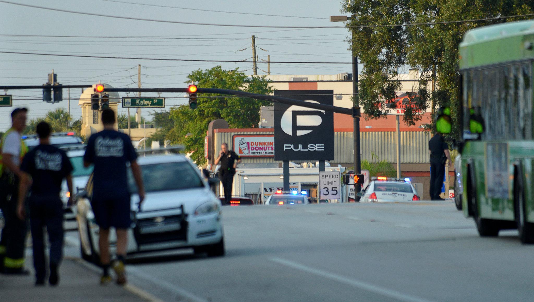 Caos tras el tiroteo de Orlando - La avenida Orange, en las prox... | Internacional | EL MUNDO