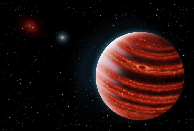 Encuentran fuera del Sistema Solar un planeta parecido a Júpiter en su juventud