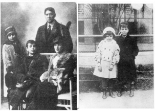 Dos retratos remotos de la familia Borges.