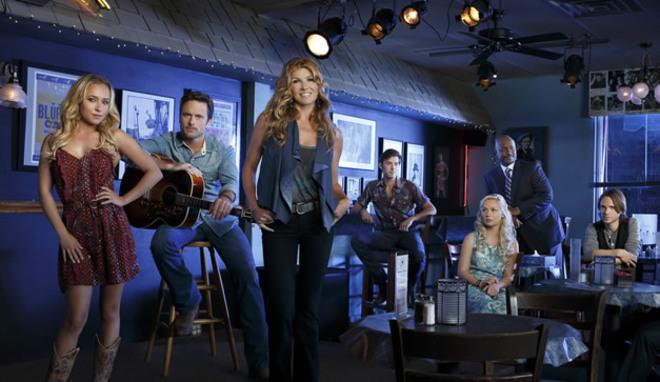 Los actores del drama musical 'Nashville'.