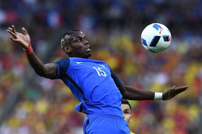 001f70a851 El francés Paul Pogba durante el partido de inauguración de la Eurocopa  FRANCK FIFEAFP-PHOTO